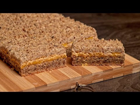 Starinske žute štangle / Old fashioned yellow cookie bars (ENG SUB)
