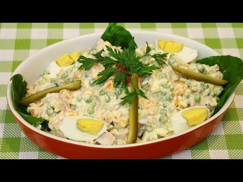 Ruska salata / Russian salad (ENG SUB)