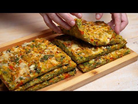 Šarena pita od povrća spremna za pet minuta