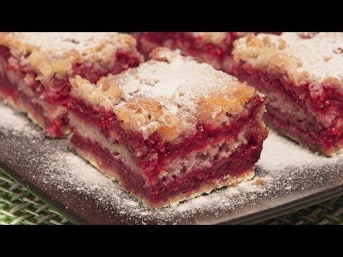 Posni kolač sa malinama / Vegan cake with raspberries (ENG SUB)