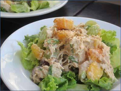 Pileća salata sa testeninom