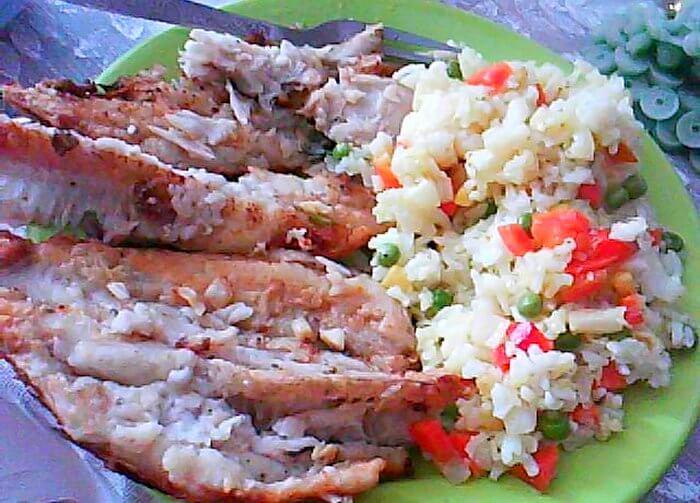 oslic sa povrcem i pirincem