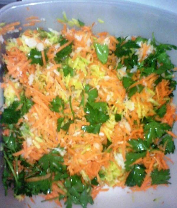 Sarena salata - domaci recepti