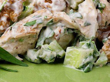 Salata sa spanaćem i piletinom