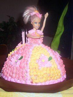 decija barbi torta