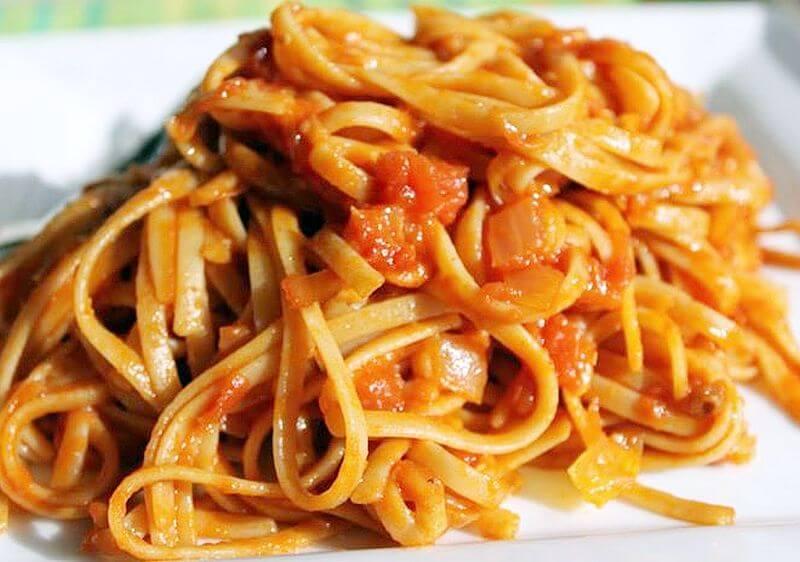 spagete u pradajz sosu