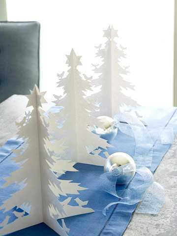 Novogodišnja dekoracija stola, jelkice - domaći recepti