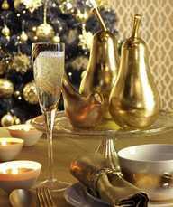 Novogodišnja dekoracina, zlatno - domaći recepti