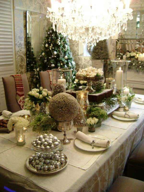 Novogodišnja dekoracija stola - domaći recepti