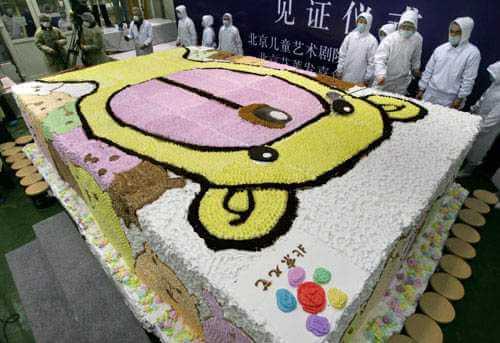 najveća torta na svetu 2 - domaći recepti