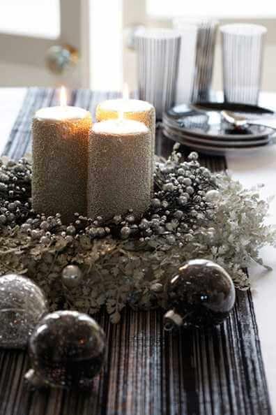 Novogodišnja dekoracija stola, ikebana - domaći recepti