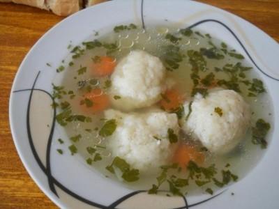 Turska supa sa knedlama