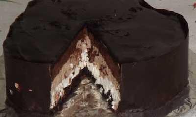 Čokoladna torta sa tri vrste čokolade