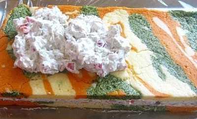 Sarena slana torta 2