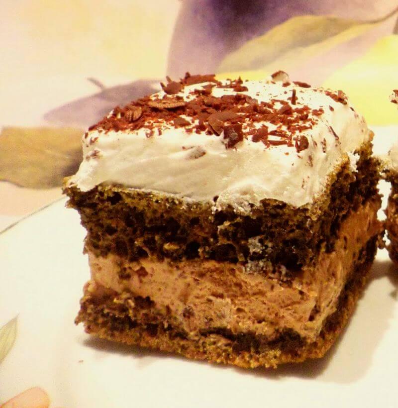 kolac od cokolade i kafe