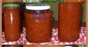 pekmez od zeleno-rujnog paradajza
