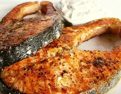 grilovani losos