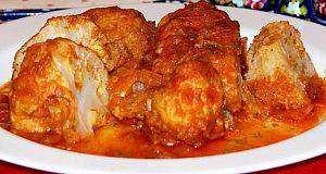 zapecen karfiol sa piletinom