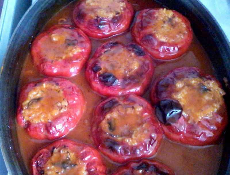 posna punjena paprika
