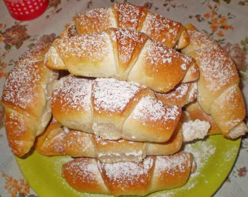 Slatke kiflice sa medom — Domaći Recepti