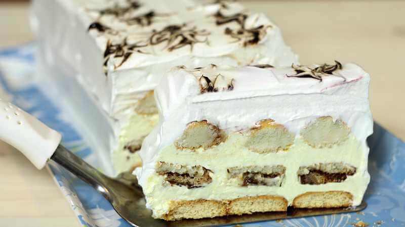 Vanila torta sa keksom