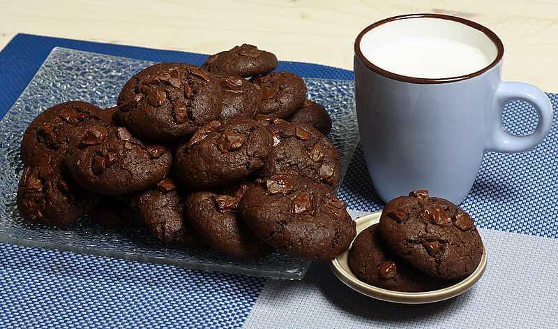 cokoladni domaci keks