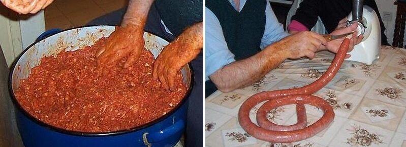 kako se prave kobasice