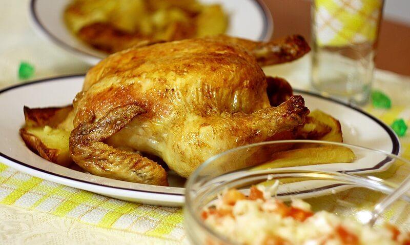 pecena piletina u pivu