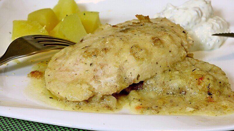 piletina sa krem supom