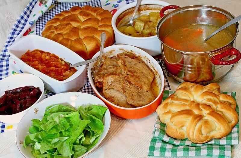 rucak, supa, meso, krompir, sataras,pogaca