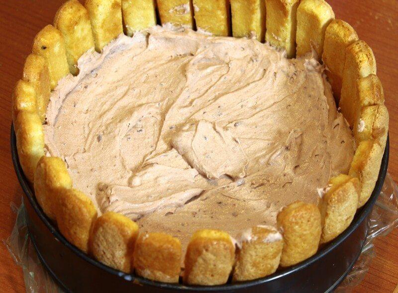 nepecena cokoladna torta sa piskotama (3)