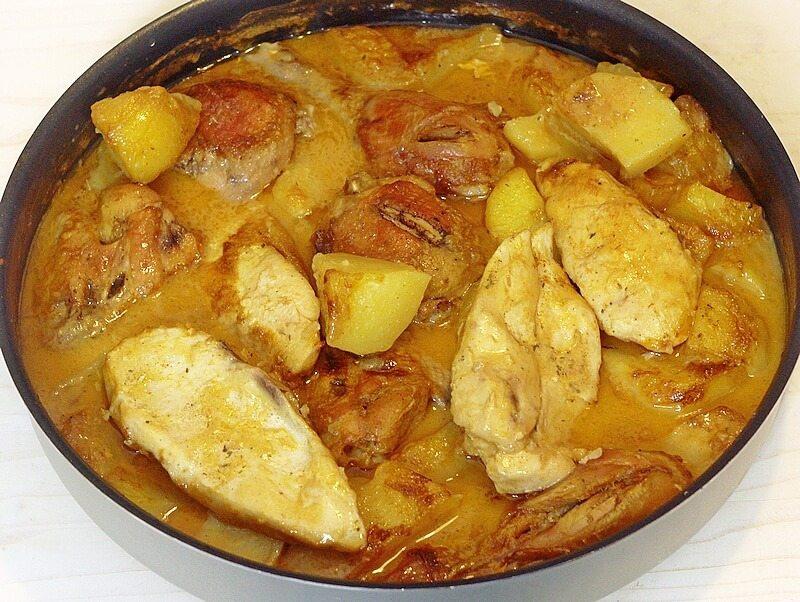 piletina sa krompirom iz rerne (2)