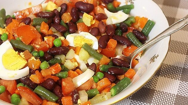 salata od pasulja