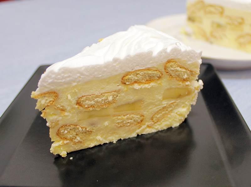 torta sa bananama i keksom