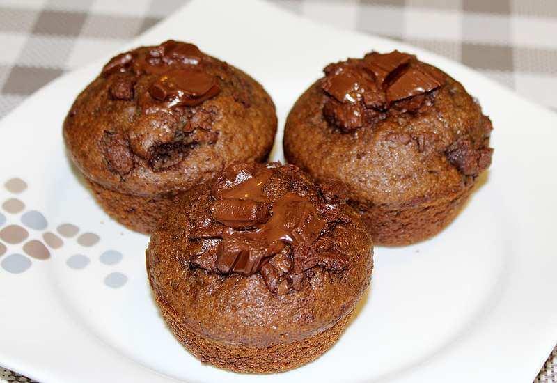 brzi mafini sa cokoladom- recepti za UN dijetu