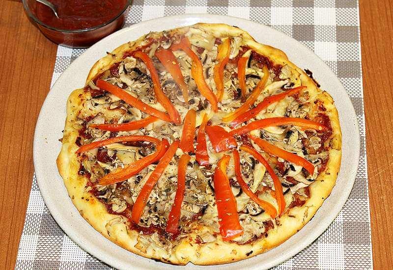 vegeterijanska pica-UN dijeta