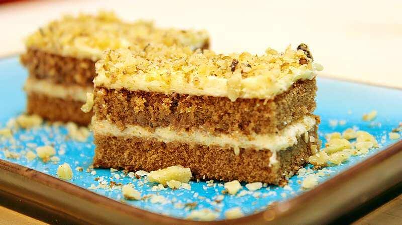 jednostavni kolac sa orasima