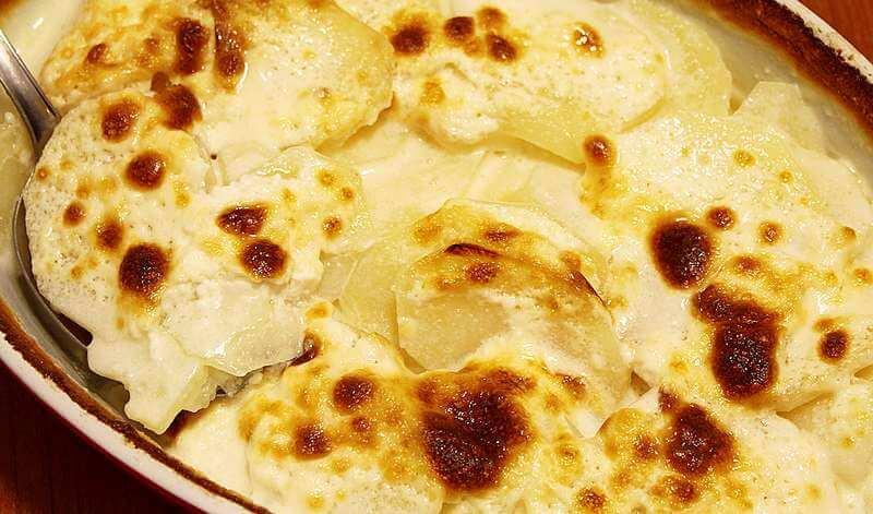 krompir u mleku iz rerne