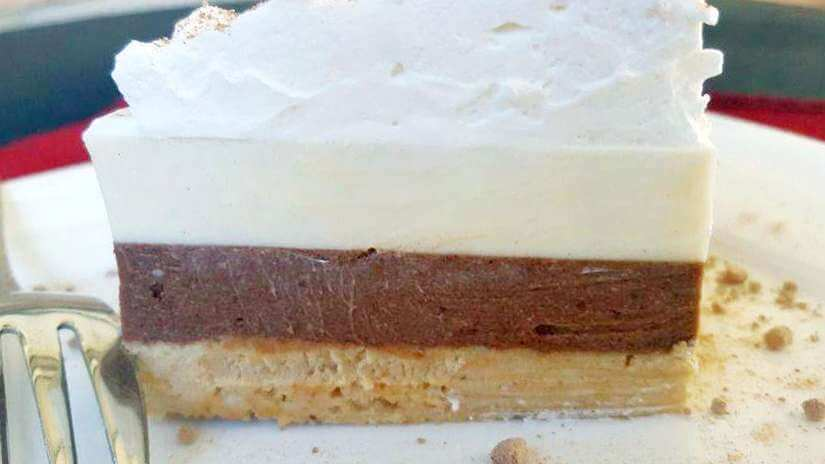 torta panna cotta