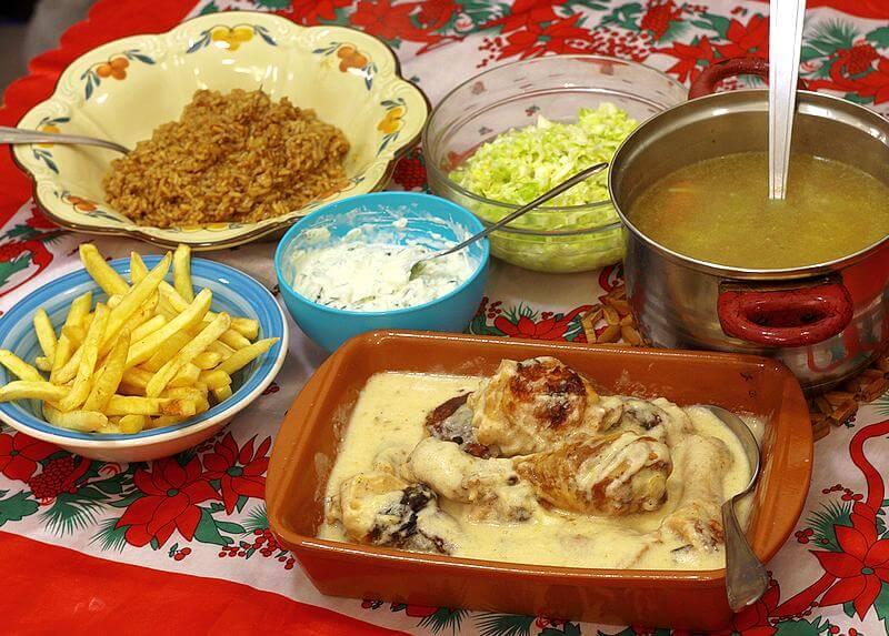 rucak, bataci, supa, salata, riza