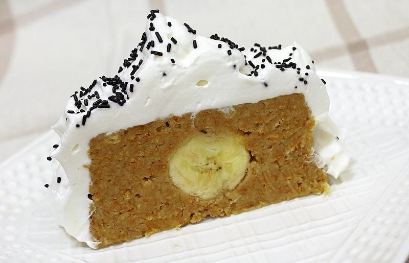 posni rolat od keksa sa bananama