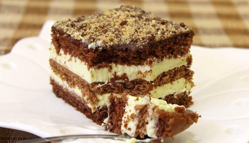 puding kolac sa kakao petit keksom