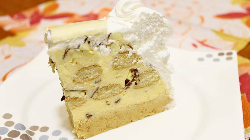 torta od piskota i bananica