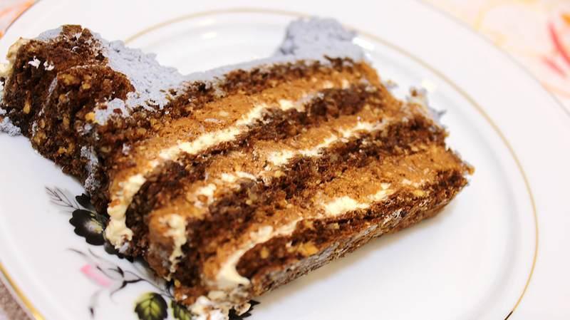 torta sa kikirikijem i karamelom