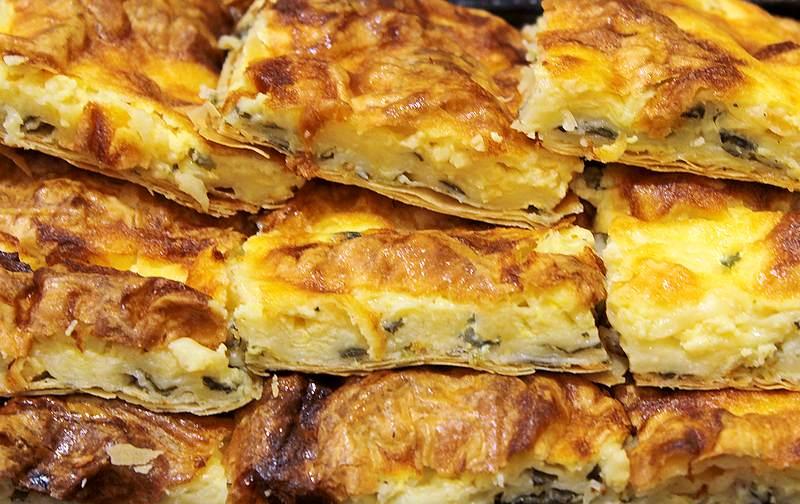zalivena pita sa sirom i spanacem