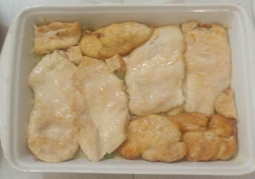 musaka od piletine, pirinca i povrca