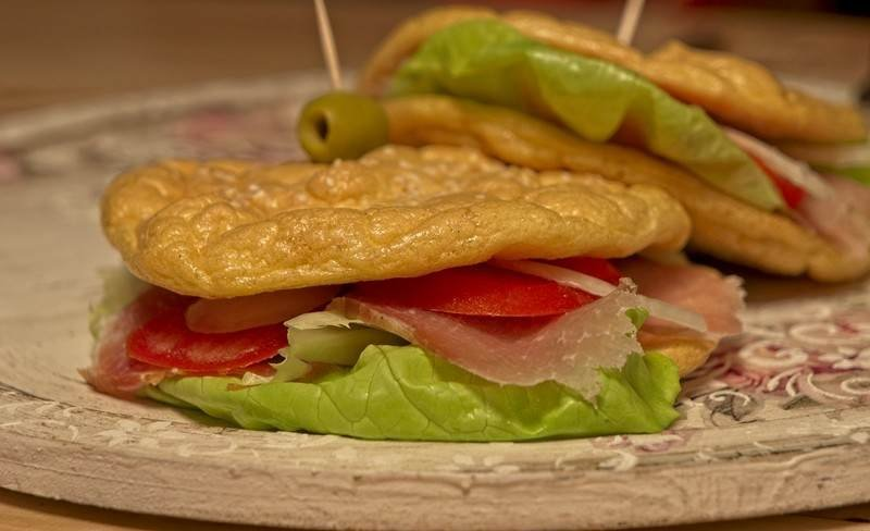 lazni hleb sendvici bez ugljenih hidrata