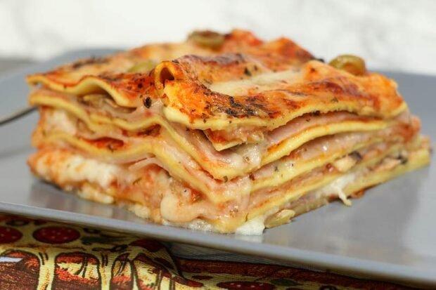 pizza lazanje