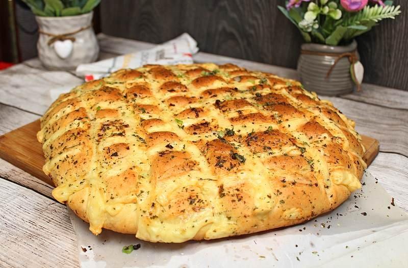 mozzarella hleb