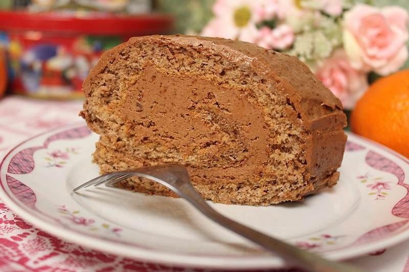 cokoladni rolat sa orasima